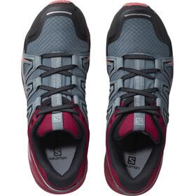 Salomon Speedcross Vario 2 - Zapatillas running Mujer - gris/rojo